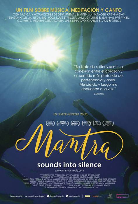"""Mantra: Sounds into silence"""