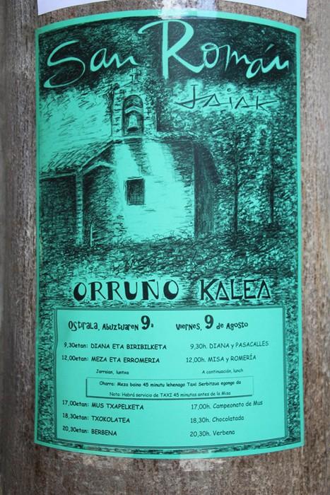 San Roman omenduz ospatu dituzte Orruño kaleko jaiak - 10