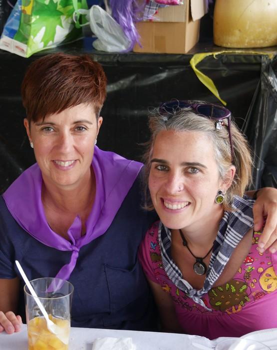 Saretzeko ekintzak eta espazioak uztartu zituen atzo Egun feministak - 18