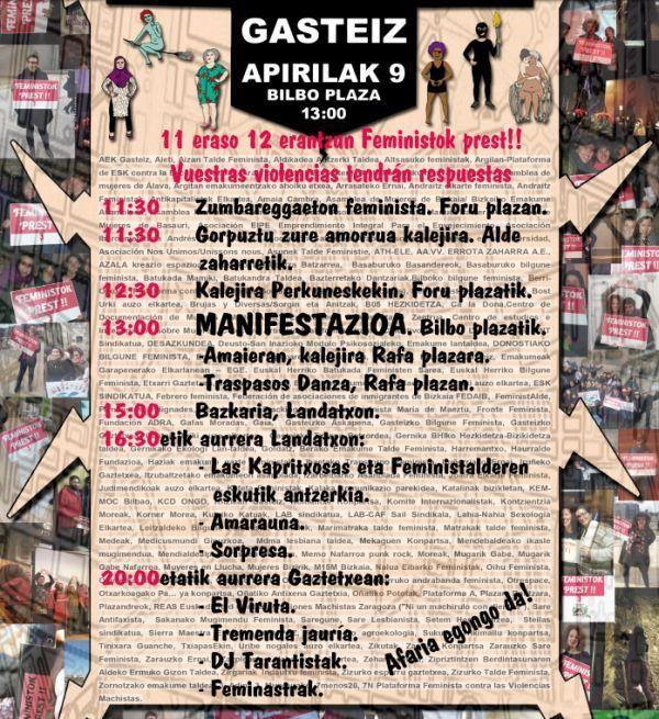 Gaur da eraso matxisten aurkako manifestazio nazionalera joateko busean izena emateko azken eguna - 1