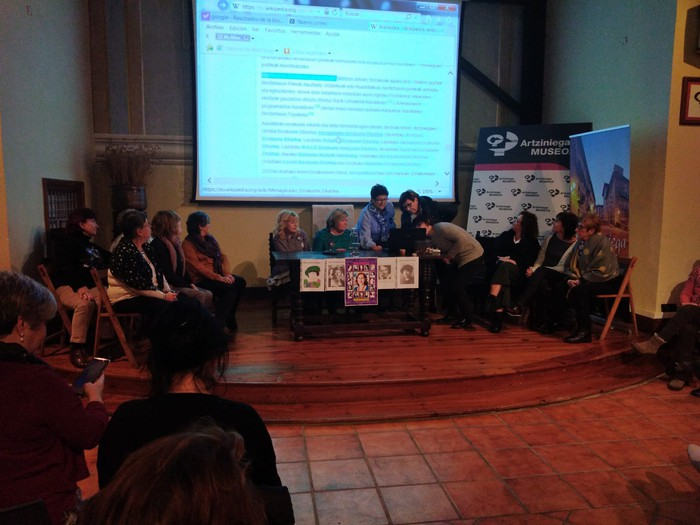 Eskualdeko talde eta elkarte feministei aitortza egin zieten Berdintasun topaketan - 7
