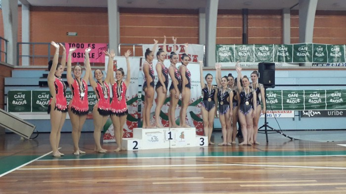 Domina ugarirekin Aresketako gimnastak Euskadiko Txapelketatik - 8