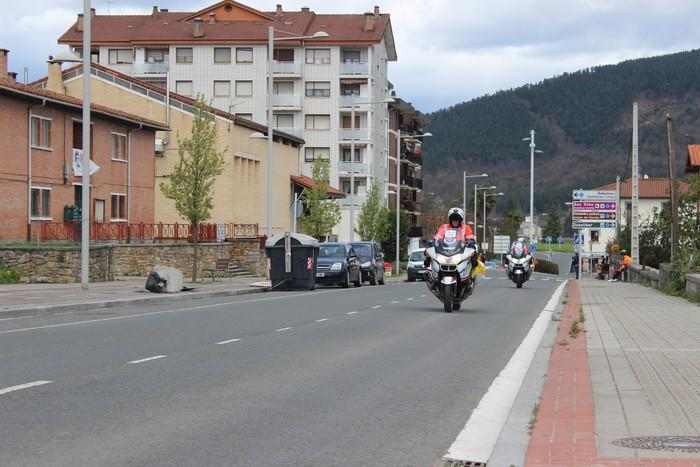 Euskal Herriko itzuliak eskualdeko errepideak hartu ditu - 20