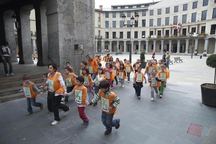 Korrika txikia Laudion 2011  - 12