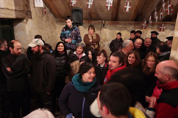 Antzinako ohitura jarraiki ospatu zuten San Anton jaia Baranbion