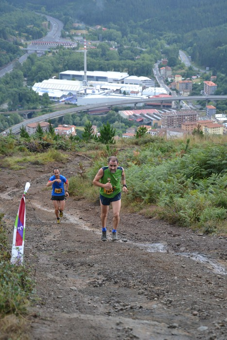 Iñaki Isasi eta Maider Urtaran izan ziren irabazleak Areta Trail probaren III. edizioan - 40
