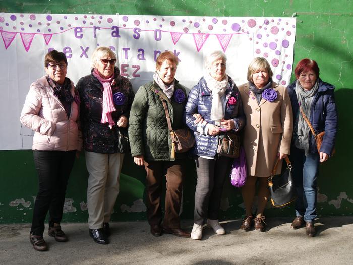 Indarkeria matxistaren aurka mobilizatu dira eskualde osoan - 70