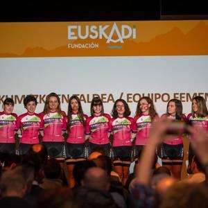 Eskualdeko 4 txirrindulari arituko dira Euskadi Fundazioan