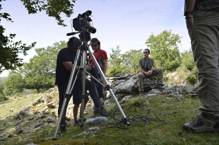Abeltzaintzari buruzko dokumentalaren grabaketari ekin diote - 15