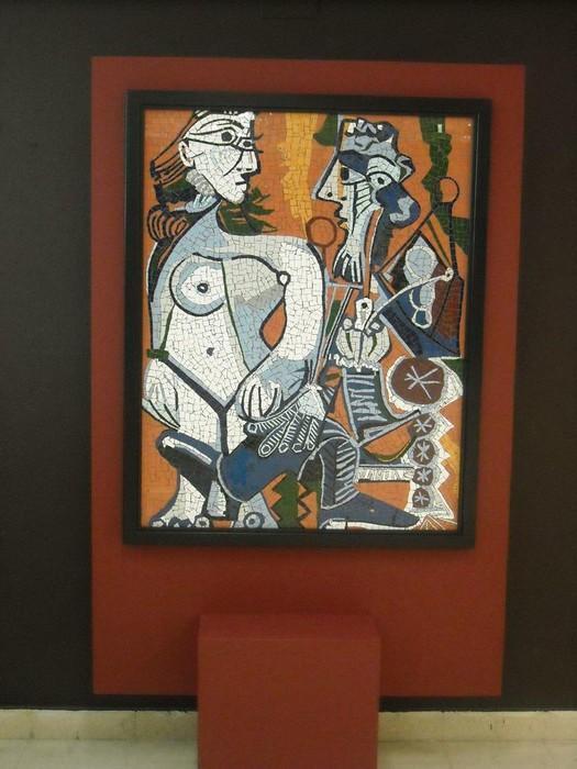 Picassorean obran oinarrituriko mosaikoak ikusgai daude Kultur Etxean - 4