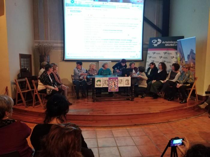 Eskualdeko talde eta elkarte feministei aitortza egin zieten Berdintasun topaketan - 4