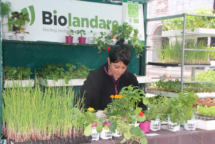 Azoka agroekologikoa ospatu dute Urduñan - 25