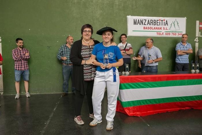 Herriko pilota txapelketa jokatu zuten asteburuan - 42
