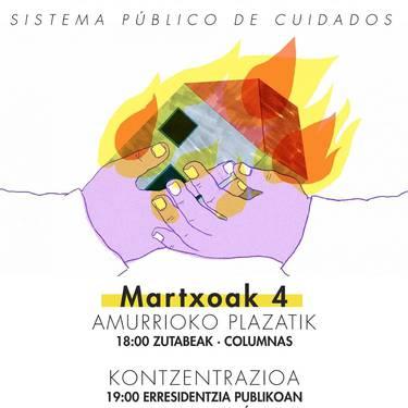 Zaintza sistema publikoaren aldeko mobilizazioa