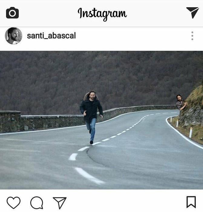 Birala bihurtu da Santiago Abascalek argitaratutako argazkia eta sare sozialetako erabiltzaile ugarik parodiatu dute - 7