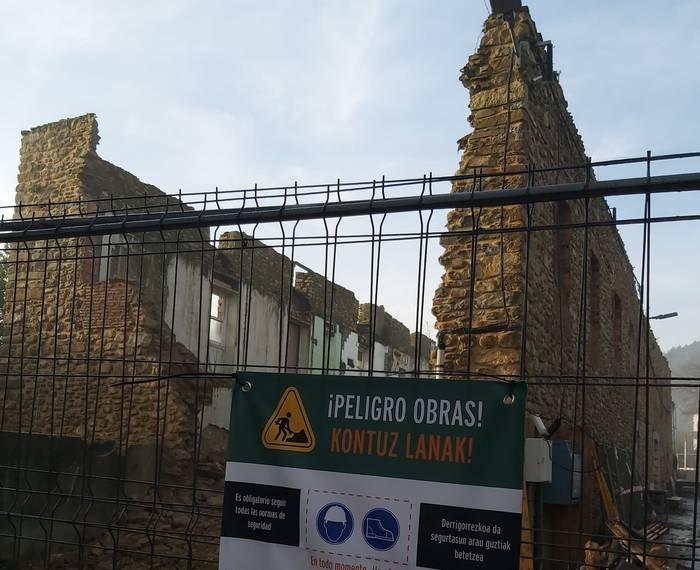 Hasi da Oxinburuko obra, Arrankudiagak erabilera anitzeko eraikina izateko