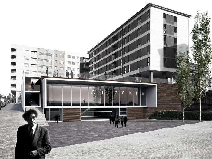 """""""Agora"""" proiektua hautatu dute Laudio Antzokia eraikitzeko - 4"""