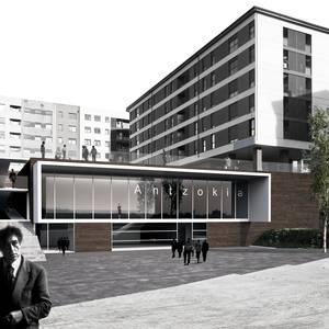 """""""Agora"""" proiektua hautatu dute Laudio Antzokia eraikitzeko"""