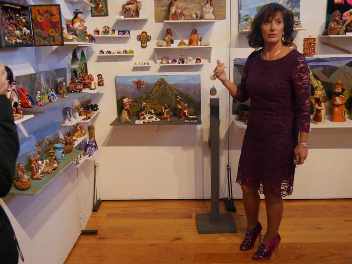ONCE erakundearen omenezko lana jarri dute Santxotena Museoko Munduko Belenen Erakusketan - 50