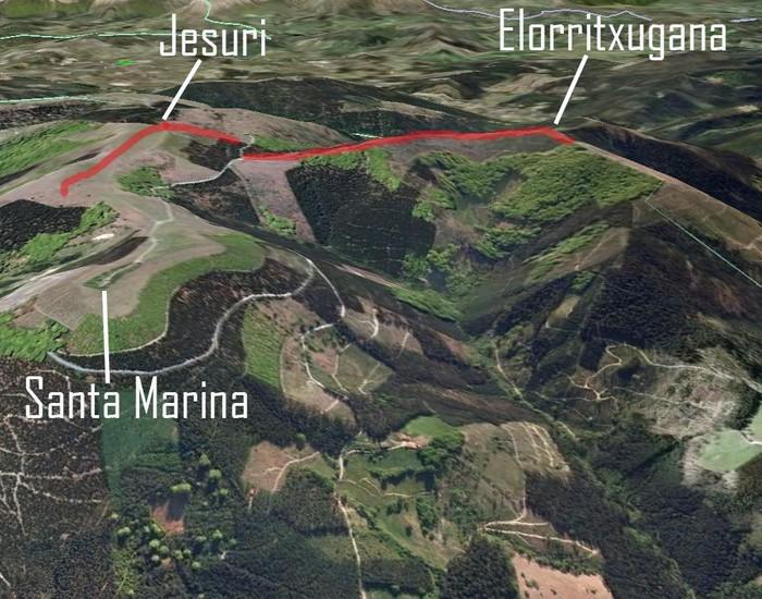 Herri kontsultan %84,9 agertu da Jesuriko parke eolikoa eraikitzearen kontra