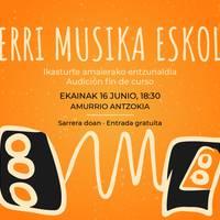 Herri Musika Eskolako emanaldia