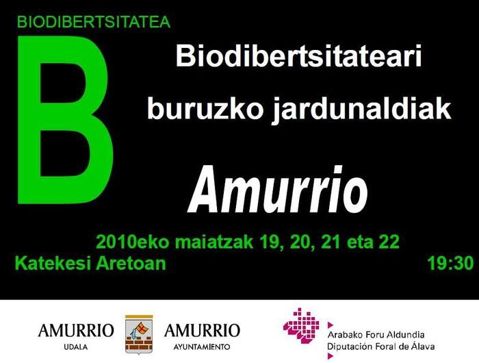 Biodibertsitateari buruzko jardunaldiak