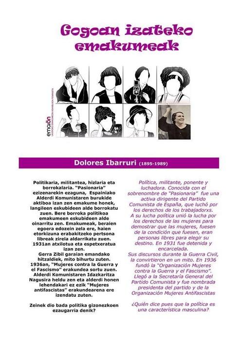 """Dolores Ibarruri """"Pasionaria"""" 3/8"""