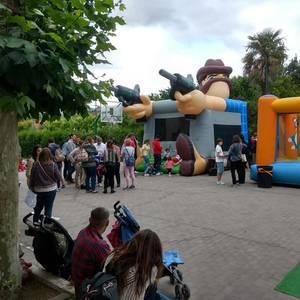 Ikasturte amaierako festa egin zuten atzo Virgen Niñan