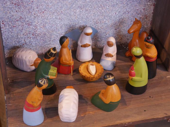 ONCE erakundearen omenezko lana jarri dute Santxotena Museoko Munduko Belenen Erakusketan - 41