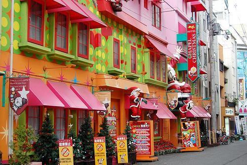 Maitasunezko hotel japoniarrak