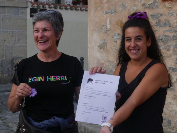 Ana Perezen pregoiari jarraiki, festarekin gaztetu da Artziniega - 16