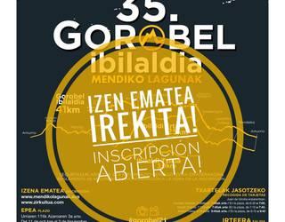 Zozketa: Gorobel Mendi Ibilaldian parte hartzeko inskripzioa