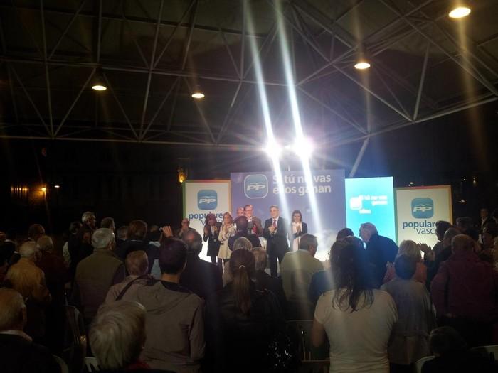 """Alfonso Alonso: """"Euskadi Espainian inbidia eta Europan erreferentzia izateko bozkatu behar da PP"""" - 2"""
