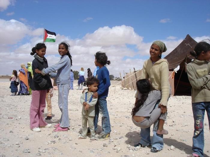 Sahararen aldeko janari bilketa Aiaraldean