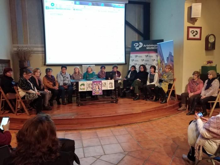 Eskualdeko talde eta elkarte feministei aitortza egin zieten Berdintasun topaketan - 15