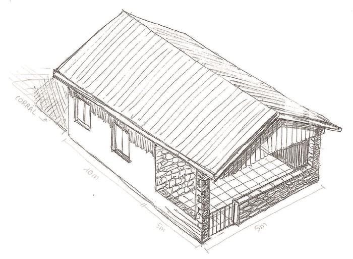 Txarlazo mendi magalean eraikiko dute Gorobelgo lehenengo aterpe irekia, herri ekimen batek sustatuta