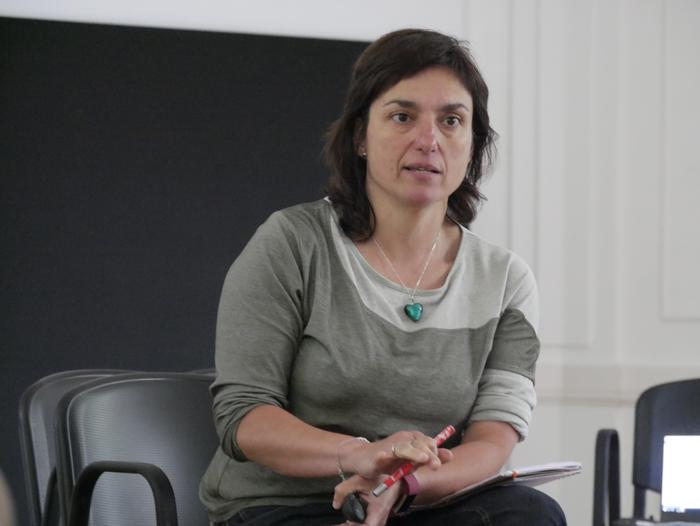 Autodefentsa feministari buruz hausnartu zuten atzo Kasinoan - 7