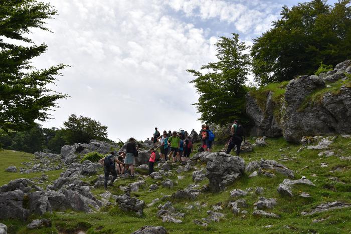 Itxina zeharkatu zuten igandean euskara praktikatzeko - 25
