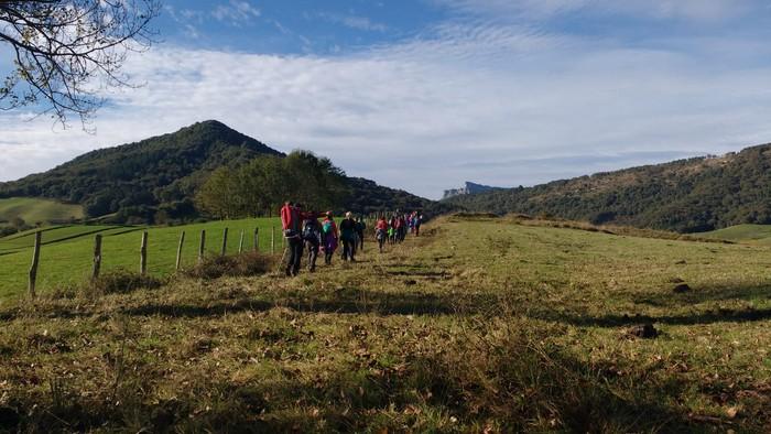 800 lagun inguruk parte hartu dute Gorobel Mendi Ibilaldian - 7