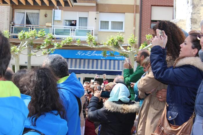 San Anton plazan egin dute umeek San Prudentzioko danborrada - 20