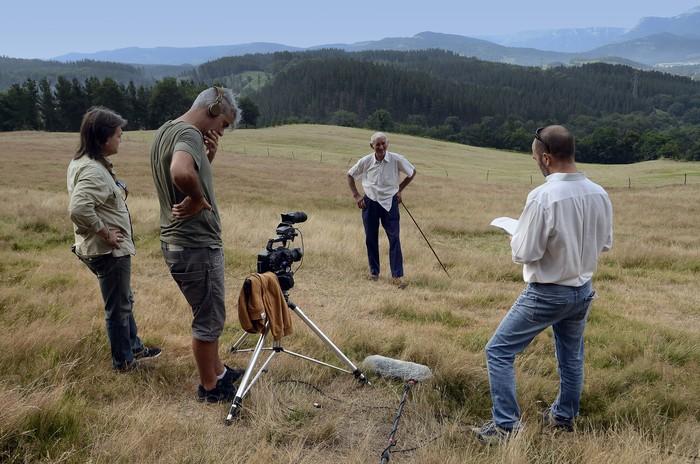 Abeltzaintzari buruzko dokumentalaren grabaketari ekin diote - 6