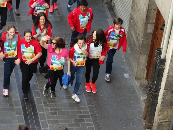 Korrika Txikia Urduñan: Foru plaza hartu zuten herriko txikienek - 23