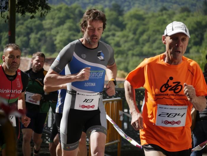 Zuriñe Frutosek eta Iñaki Isasik irabazi dute Aiarako Mendi Duatloia - 27