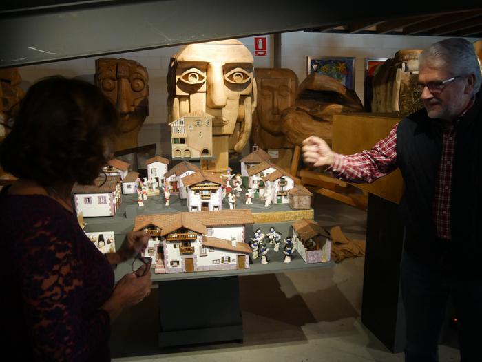 ONCE erakundearen omenezko lana jarri dute Santxotena Museoko Munduko Belenen Erakusketan - 15