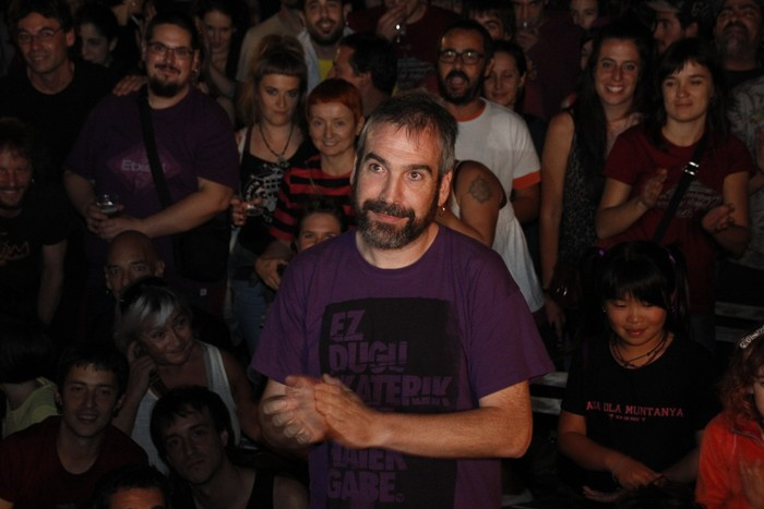 Zaballara gerturatu dute Alfredo Remirez preso politikoa