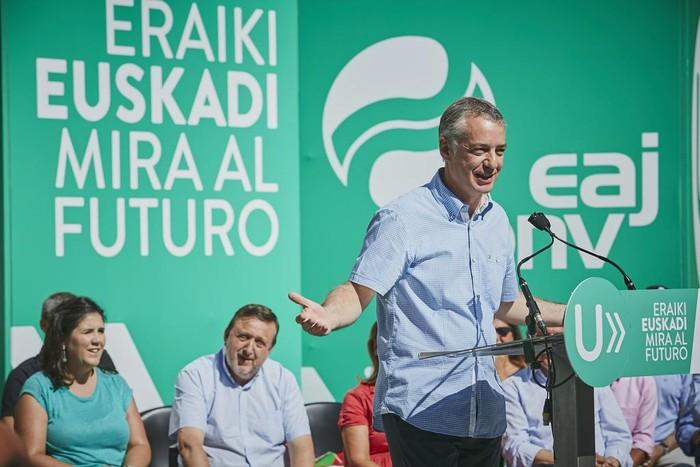 """""""Euskadi Europara hurbiltzen"""" jarraituko duela ziurtatu du Urkulluk Laudion"""