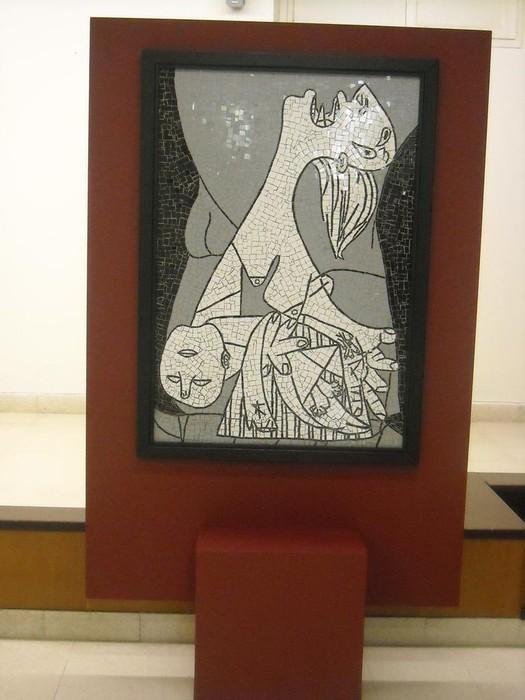 Picassorean obran oinarrituriko mosaikoak ikusgai daude Kultur Etxean - 1