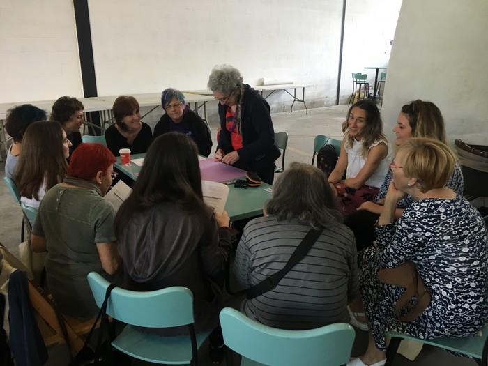Aiaraldeko emakume feministen topaketa argazkitan - 52