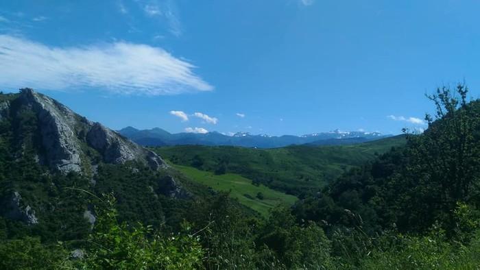 Picos de Europa bisitatu dute Matxinkortako kideek - 12
