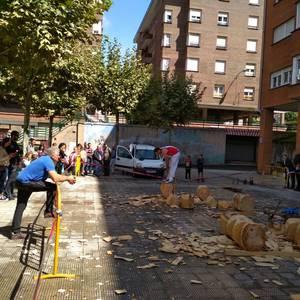 Extremadura Etxeko Jaiek Latiorro auzoa alaitu dute